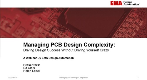 On-Demand Webinar: Managing PCB Design Complexity