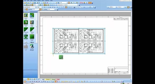 Add Mill Tab, Drill Chart and Fabrication Notes to Panel Drawing