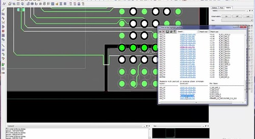 PCB Editor - Segment Over Voids Checks and Routing