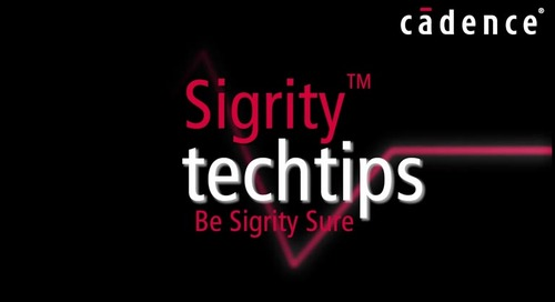 Sigrity Tech Tip - Power Integrity Analysis and PI rules Driven Routing with Allegro Sigrity PI Base