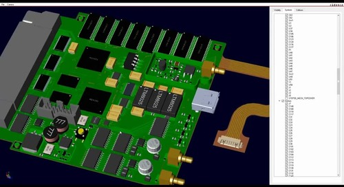 PCB Editor 17.2 - Upgraded 3D Engine