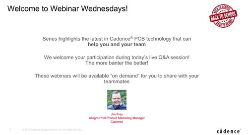Cadence Webinar: Route Faster