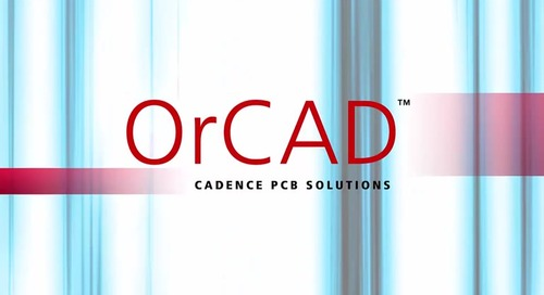 Working with OrCAD: Series Introduction