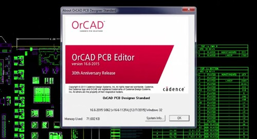 Working with OrCAD: Allegro and OrCAD ABC's