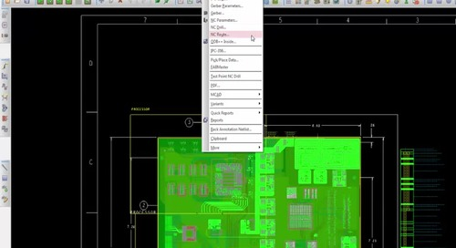 Working with OrCAD: Outputs