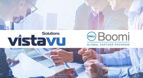 VistaVu joins Dell Boomi Global Select Partner Program