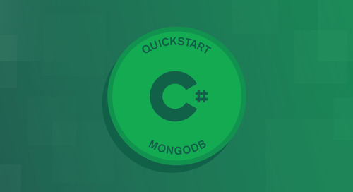 Quick Start: C# and MongoDB - Update Operation