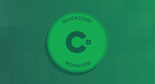 Quick Start: C# and MongoDB - Starting and Setup