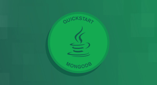 Quick Start: Java and MongoDB - Starting and Setup