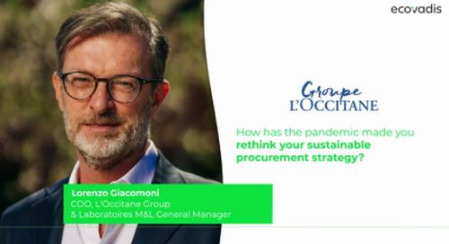 L'Occitane Engaging in Sustainable Procurement