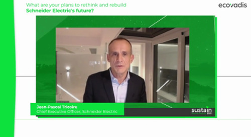 Schneider Electric: Acting Responsibly Is the Only Way to Resilience