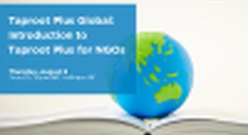 Taproot Plus Global: Virtual Volunteer Support for Charitable Organizations