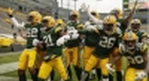 """Tork and the Green Bay Packers Team up to """"Tackle Hygiene With Every Catch"""""""