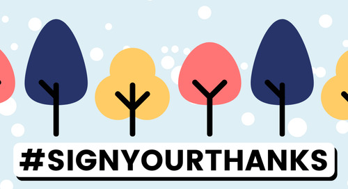 Join Faces Behind the Screen and #SignYourThanks