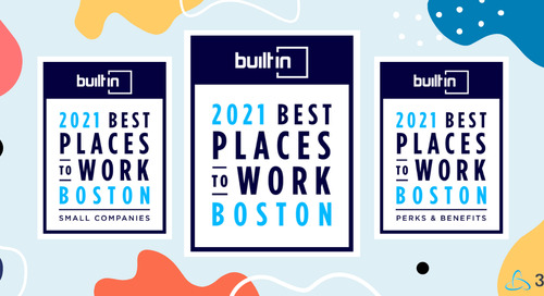 Built In Honors 3Play Media in 2021 Best Places to Work Awards