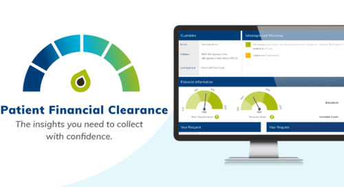 What is patient financial clearance?