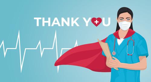 Celebrating healthcare heroes during Nurses Month