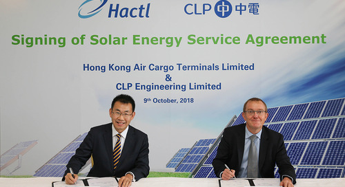 Jolly green Hactl to install large-scale solar panels