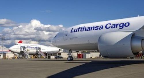 Lufthansa Cargo Triple Seven fleet grows