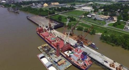 Port of South Louisiana celebrates Globalplex Intermodal Terminal's 25 years in operation