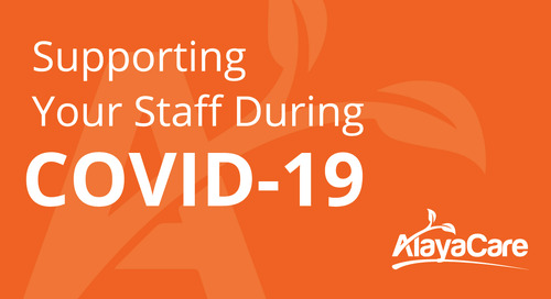 Supporting your staff during COVID-19