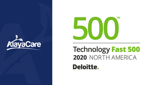AlayaCare ranked no. 113 Fastest-growing company in North America on Deloitte's 2020 Technology Fast 500™