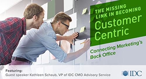 Webinar Recap: The Missing Link in Becoming Customer-Centric