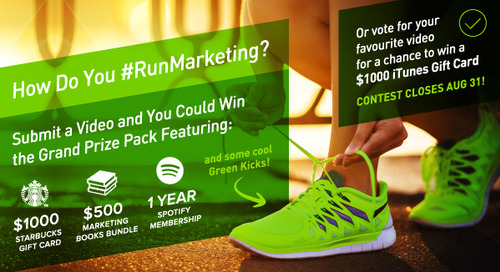#RunMarketing Contest Update: The End Is Near