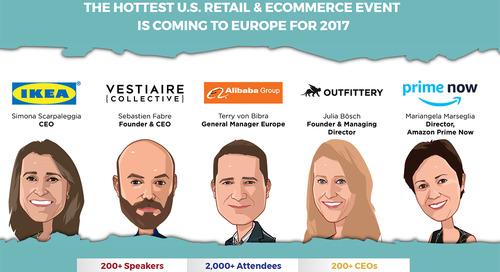 Event Preview: Shoptalk Europe 2017