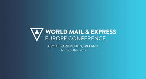 The World Mail & Express Europe Conference 2019