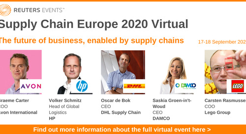 Event preview: Supply Chain Europe Virtual 2020