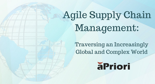 Agile Supply Chain Management: Traversing an Increasingly Global and Complex World
