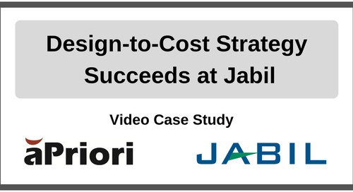 Design-to-Cost Strategy Succeeds at Jabil