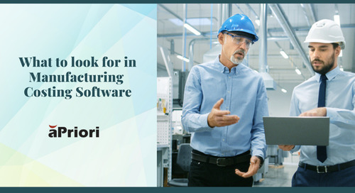 What to Look for in Manufacturing Costing Software