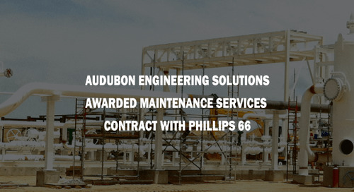 Audubon Engineering Solutions Awarded Maintenance Services Contract with Phillips 66