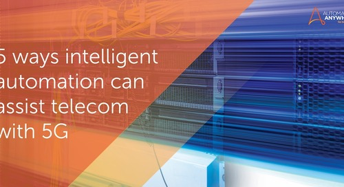 5 ways intelligent automation can assist telecom with 5G