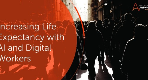Increasing life expectancy with AI and Digital Workers