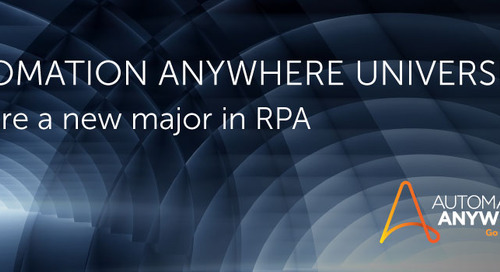 Automation Anywhere University: Declare a new major in RPA and do the bot dance