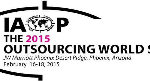 Five Don't-Miss Sessions at IAOP Outsourcing World Summit 2015
