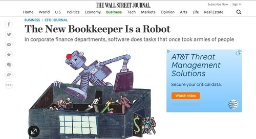 CEO Mihir Shukla and the Wall Street Journal talk F&A automation