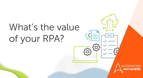 How to More Accurately Calculate RPA ROI
