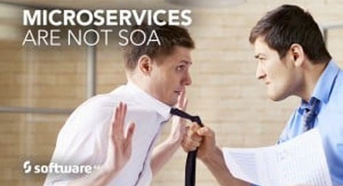 Microservices are Not the Same as SOA