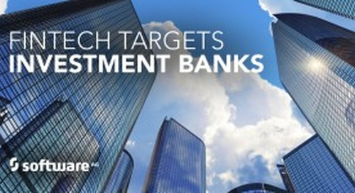FinTech Ready to Disrupt Investment Banking
