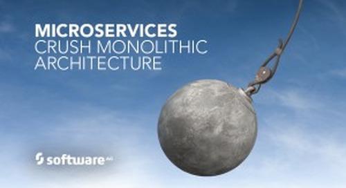 Microservices will Demolish Monolithic Architectures