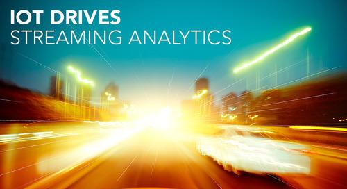 IoT Propels Streaming Analytics into Mainstream