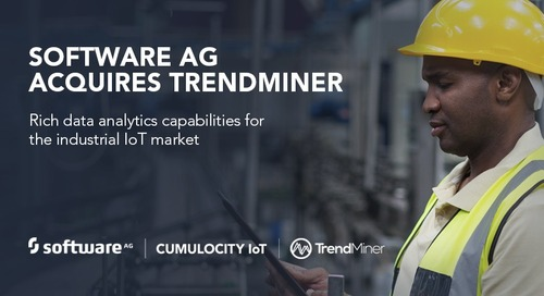Software AG and TrendMiner Leverage the IoT