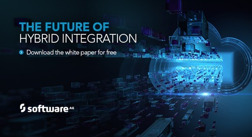 The Future of Hybrid Integration is webMethods