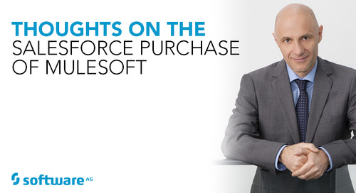Thoughts on the Salesforce Purchase of MuleSoft