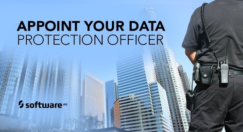 GDPR: Hire Your Data Protection Officer Now