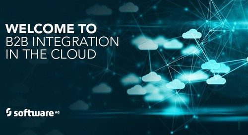 webMethods B2B Integration Moves to the Cloud